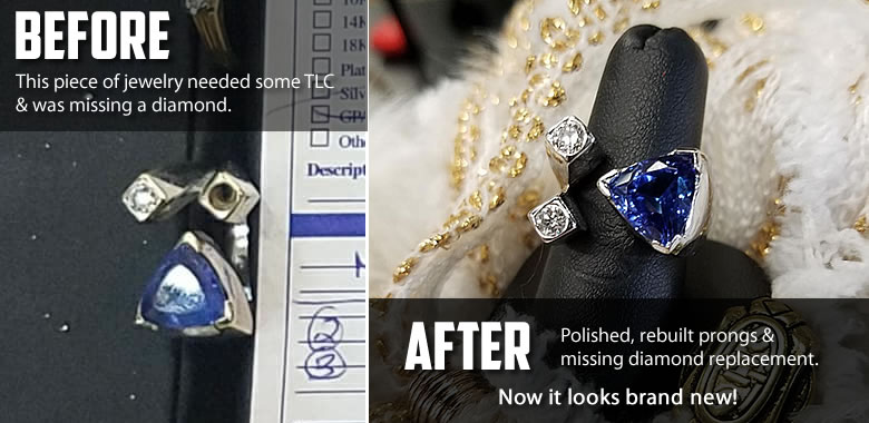Fagan DIamond Jewelers Repair, Polish & Clean