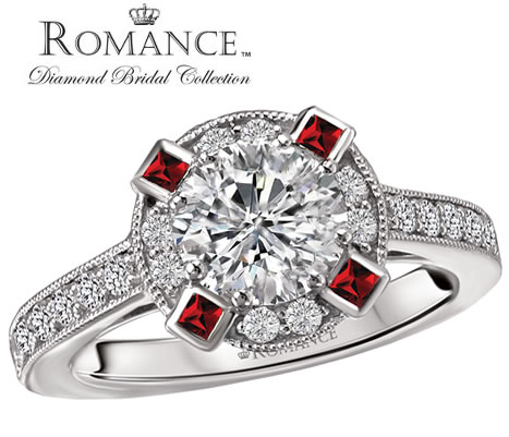 romance engagement rings wyoming